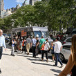 Marcus Samuelsson Celebrating The Release Of Marcus Samuelsson's 'Our Harlem' With Food Trucks In NYC