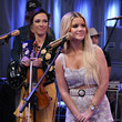 Maren Morris The Highwomen Perform Live On SiriusXM's The Highway Channel In New York City