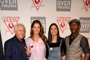 Mareva Georges Marciano Peace Over Violence Announces GUESS Foundation Support For The 16th Annual Denim Day On April 29, 2015