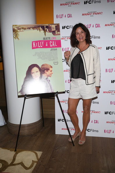 Colin actress margaret colin attends the kelly and cal new york