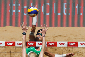 Maria Antonelli FIVB Beach Volleyball Vitoria Open - Day 5