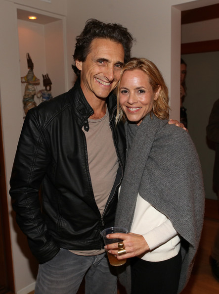 """Screening For """"The Square"""" At The Home Of Maria Bello In Santa Monica"""