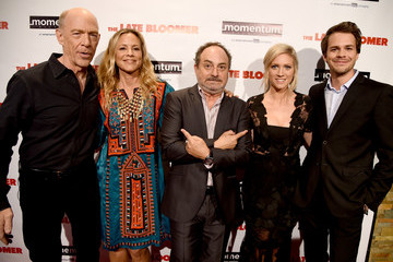 Maria Bello Premiere of Momentum Pictures' 'The Late Bloomer' - Red Carpet