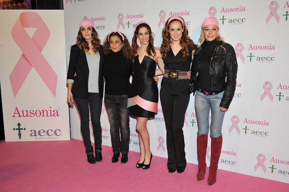 Celebrities Attend Ausonia Against Breast Cancer Event in Madrid