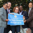 Maria Elena Durazo The City Of Los Angeles Officially Unveils Obama Boulevard In Honor Of The 44th President Of The United States Of America