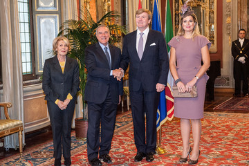 Maria Fedele King Willem-Alexander and Queen Maxima in Rome