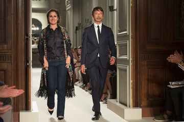 Maria Grazia Chiuri Valentino: Runway - Paris Fashion Week - Menswear Spring/Summer 2016