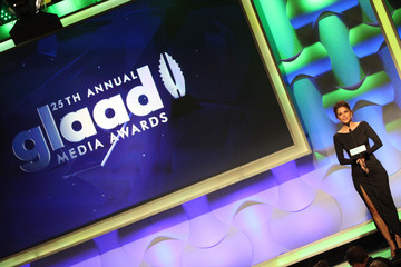 Maria Menounos 25th Annual GLAAD Media Awards - Show