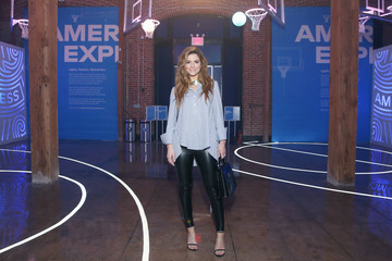 Maria Menounos American Express Fan Experience at NBA All-Star Weekend 2018