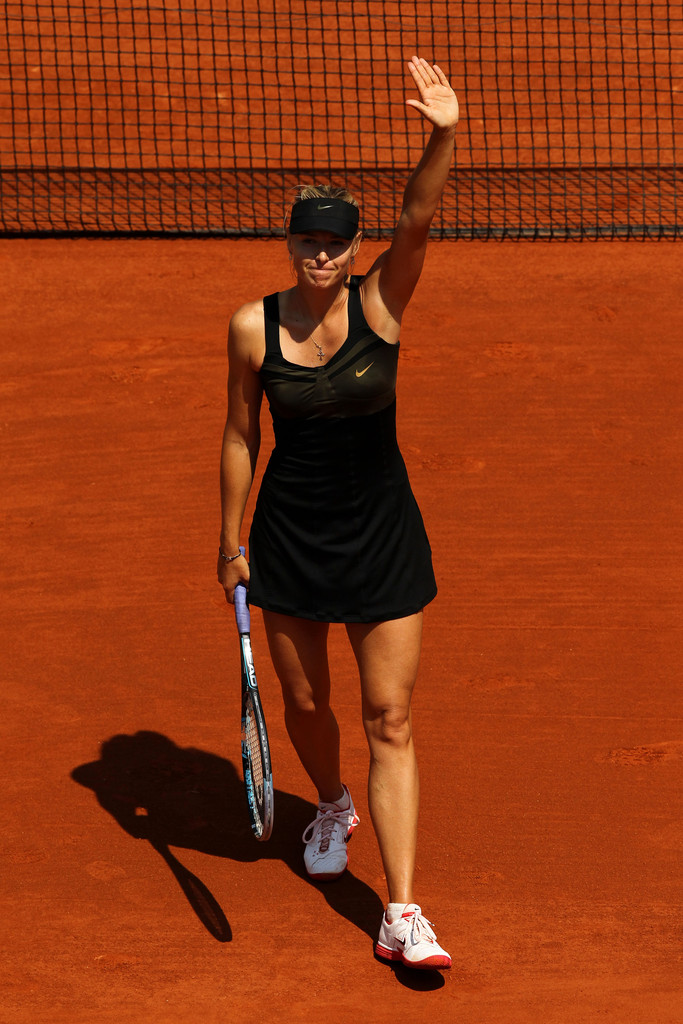 Maria Sharapova - 2012 French Open - Day Three