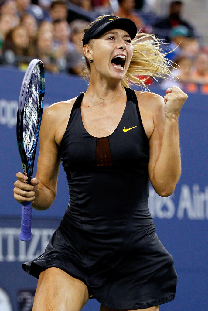 Maria Sharapova - 2012 US Open - Day 7