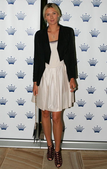Maria Sharapova - Crown's Tennis Players' Party