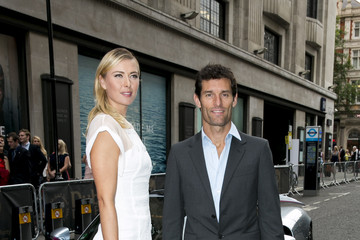Maria Sharapova Mark Webber Porsche Arrivals at the WTA Pre-Wimbledon Party