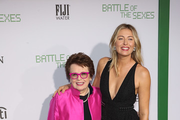 Maria Sharapova FIJI Water at the 'Battle of the Sexes' Los Angeles Premiere