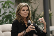 Maria Shriver sits down in conversation at The Riveter on January 15, 2019 in Los Angeles, California.