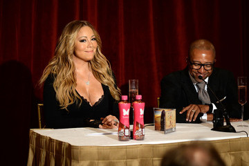 Mariah Carey Kevin Liles Mariah Carey Launches 'Butterfly' in NYC