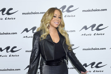 Mariah Carey Mariah Carey Visits Music Choice