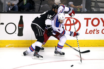 Marian Gaborik Dan Girardi 2014 NHL Stanley Cup Final - Game Five