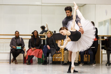 Marianela Nunez London's Official Guest of Honour Waltzes Through Royal Opera House With Strictly Come Dancing Star