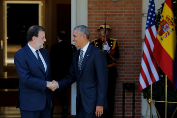 Mariano Rajoy US President Barack Obama Visits Spain - Day Two