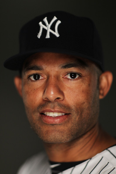 MARIANO RIVERA MARIANO RIVERA #42 of the New York Yankees poses for a ...