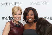 VP, Publisher, Marie Claire Nancy Cardone and Star Jones attend Marie Claire's Second-Annual New Guard Lunch at Hearst Tower on October 30, 2014 in New York City.