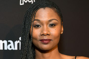 Emayatzy Corinealdi is seen as Marie Claire honors Hollywood's Change Makers on March 12, 2019 in Los Angeles, California.