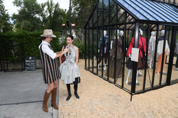 GrowHouses Reception - Berlin Fashion Week Spring/Summer 2020 [event,dress,tourism,isabel vollrath,marie nasemann,l-r,ewerk,berlin,germany,growhouses reception,berlin fashion week,berlin fashion week spring]