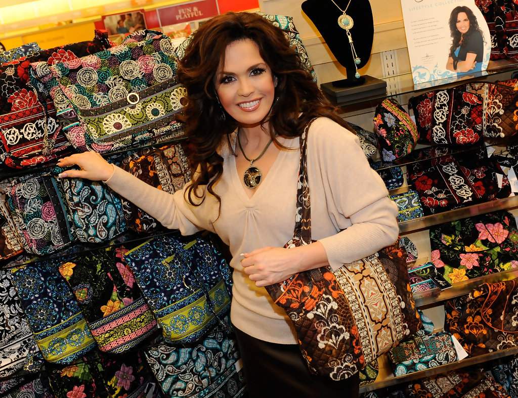 marie osmond debuts her marie lifestyle collection zimbio. Black Bedroom Furniture Sets. Home Design Ideas