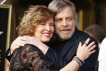 Marilou York Mark Hamill Honored With Star On The Hollywood Walk Of Fame