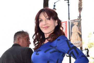 Marilu Henner Lynda Carter Is Honored With A Star On The Hollywood Walk Of Fame