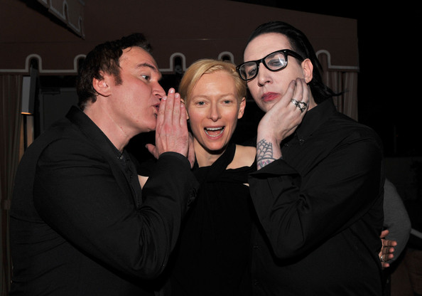 Marilyn Manson Quentin Tarantino Photos Magnolia Pictures And