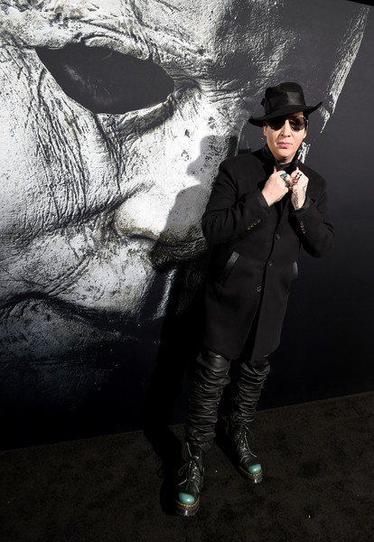 Marilyn Manson Photos Universal Pictures Halloween Premiere