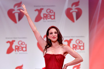 Marin Hinkle The American Heart Association's Go Red For Women Red Dress Collection 2020 - Runway