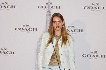 Marina Jamieson Stars at the Coach Boutique Opening