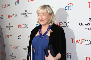 Marine Le Pen TIME 100 Gala, TIME's 100 Most Influential People In The World - Lobby Arrivals