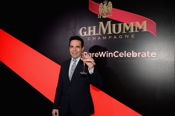 Mario Cantone G.H. Mumm and Usain Bolt Toast to the Kentucky Derby in New York City