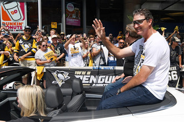 Mario Lemieux Pittsburgh Penguins Victory Parade and Rally