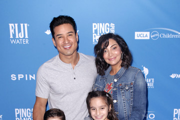 Mario Lopez Courtney Laine Mazza Clayton Kershaw's 7th Annual Ping Pong 4 Purpose