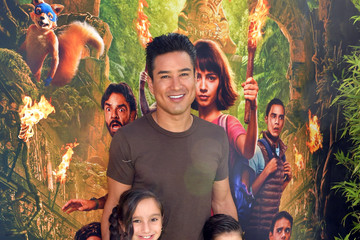 Mario Lopez Dominic Lopez L.A. Premiere Of Paramount Pictures' 'Dora And The Lost City Of Gold' - Red Carpet