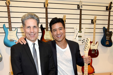Mario Lopez Fender Celebrates Hollywood Office Grand Opening With Exclusive Performances by Cold War Kids and Bleached