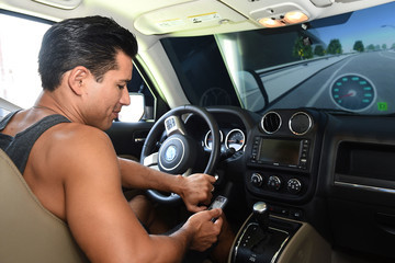 Mario Lopez Mario Lopez Puts the Brakes on Distracted Driving This Summer With Allstate's Reality Rides Simulator