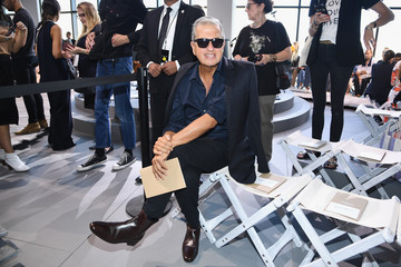 Mario Testino Michael Kors Collection Spring 2018 Runway Show - Front Row