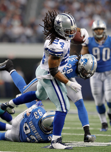Marion Barber Running back Marion Barber #24 of the Dallas Cowboys ...
