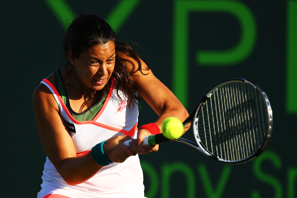 Marion Bartoli - Sony Open Tennis: Day 4