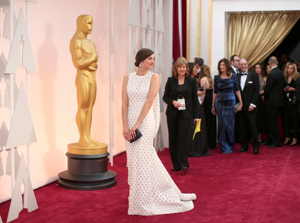 Marion Cotillard - Arrivals at the 87th Annual Academy Awards — Part 2