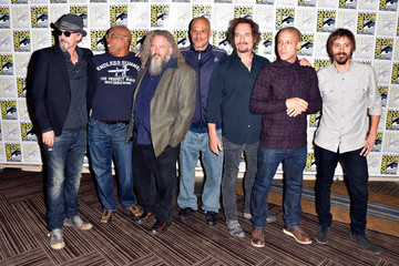 Mark Boone Junior Theo Rossi 'Sons of Anarchy' Press Line at Comic-Con