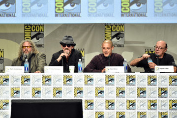 Mark Boone Junior Theo Rossi 'Sons of Anarchy' Panel at Comic-Con