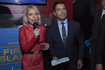 Mark Consuelos Logo TV Fire Island Premiere Party
