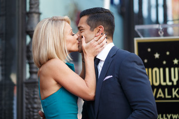 Mark Consuelos Kelly Ripa Honored With Star on the Hollywood Walk of Fame